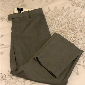 H&M gray dress pants